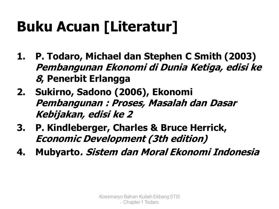 Buku Acuan [Literatur]